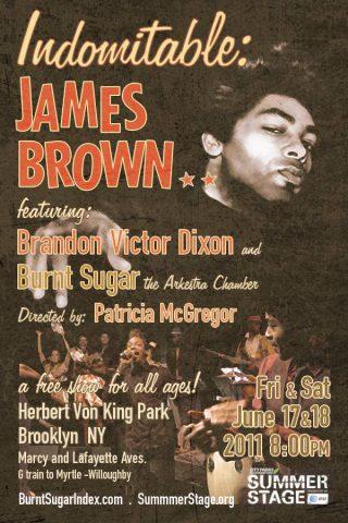 Indomitable: James Brown at Summerstage
