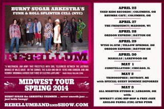 Rebellum Midwest Tour Spring 2014