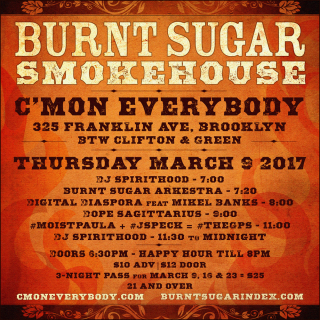 Burnt Sugar Smokehouse March 9