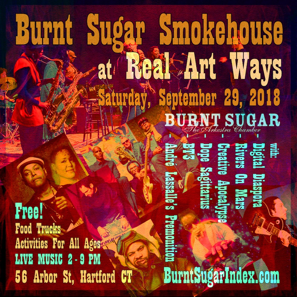 Burnt Sugar Smokehouse at Real Art Ways