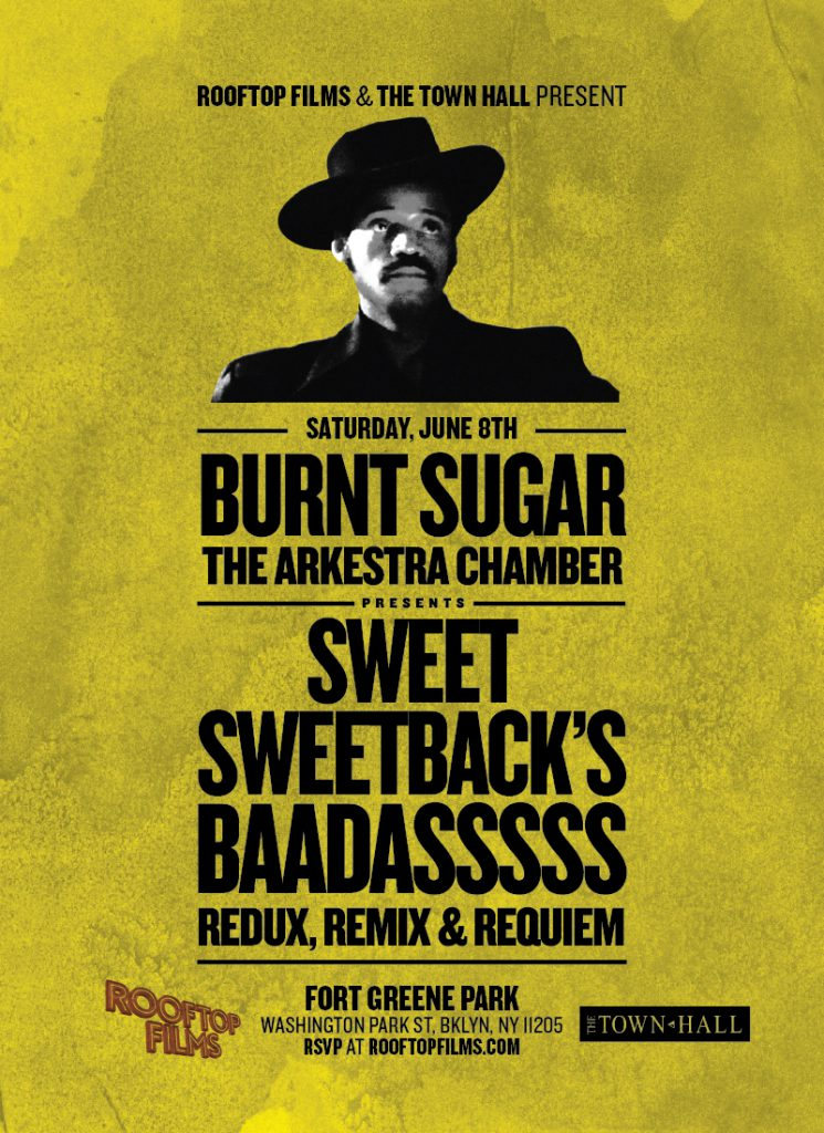 poster for Sweet Sweetback's Baadasssss Redux, Remix & Requiem