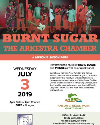 Burnt Sugar at Summer Concert Series at Anson B. Nixon Park