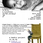 Join us for A Bashir Project feat live performances by Jamila Raegan, Burnt Sugar, and DJ WAJEED